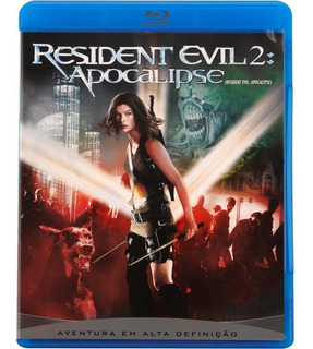 Blu-ray Residente Evil 2 Apocalipse Original Lacrado