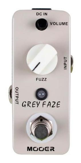 Pedal Fuzz Mooer Grey Faze Vintage Fuzz Mini Promoção!