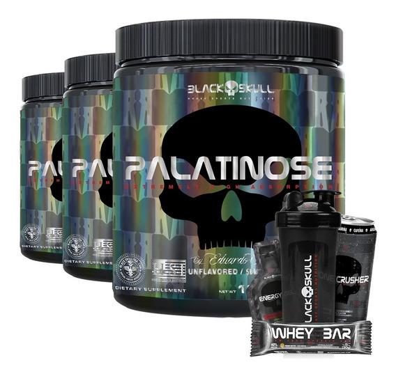Combo 3 X Palatinose 300g - Black Skull
