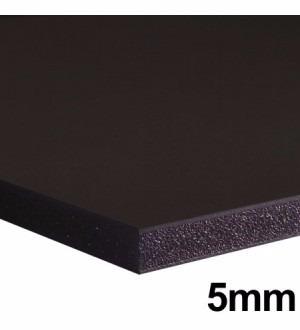 25x Foam Board 122x244cm 5mm Contracole Papel Pluma