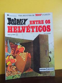 Hq Asterix Entre Os Helveticos 9 Goscinny Uderzo 1985