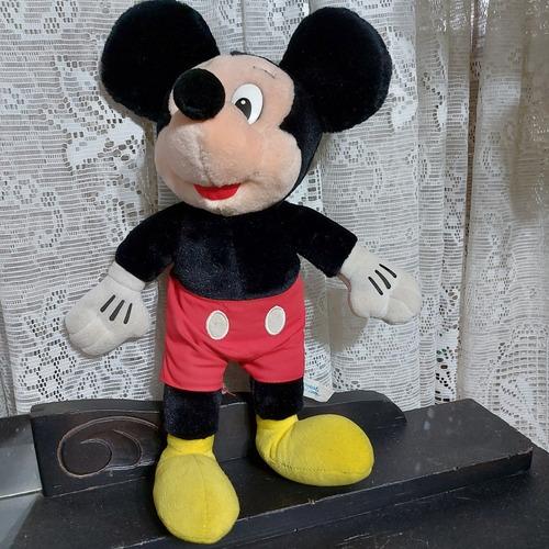 Mickey Pelúcia Disneyland Antigo 40cm