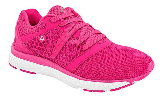 Tenis Deportivo Charly Fucsia Textil Dama C86009 Udt