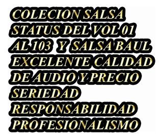 #coleccion Salsa Status,baúl Y Erótica Mp3 20 Gb