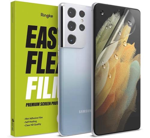 Film Easy Flex S21 Ultra Samsung Galaxy Ringke Pack X2