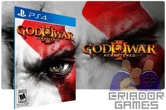 God Of War 3 Remastered Ps4 Mídia Digital Primária Promoção