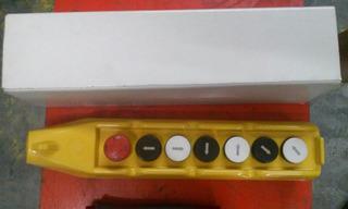 Botonera Colgante, 7 Botones Para Grua