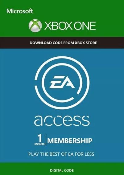 Ea Acess Assinatura 1 Mes Xbox One Código 25 Digitos
