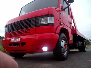 Caminhão Mb709 Turbo Guincho Plataforma+asa Delta (cod:0007)