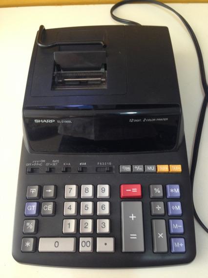 Maquina Calculadora Sharp Está Dañada