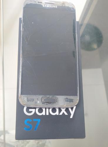 Samsung S7 -retirada De Peças-placa Funcion-frete Gratis