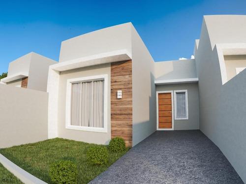 Imagem 1 de 5 de Casa Para Venda Em Ponta Grossa, Uvaranas, 2 Dormitórios - Lf - 003_1-1705484