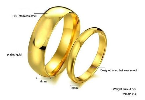 Aros De Matrimonio Oro 18k Boda Plata Alianzas Aniversario