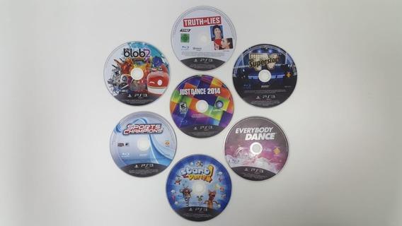 Combo 7 Jogos Para Ps3 - Original