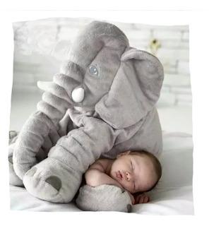 Peluche Elefante Almohada De Contencion Y Apego 60cm