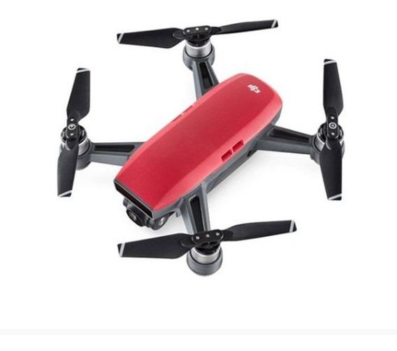 Drone Spark Dji Combo More Fly Original Vermelho