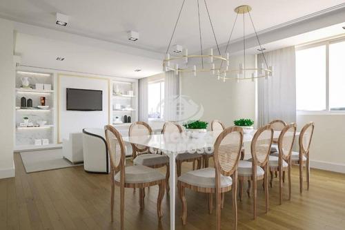 Imagem 1 de 9 de Apartamento Com 4 Dormitórios À Venda, 180 M² Por R$ 2.315.000 - Higienópolis - São Paulo/sp - Ap3429