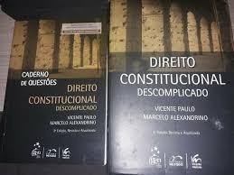 Direito Constitucional Descomplicado + C Vicente Paulo E Ma