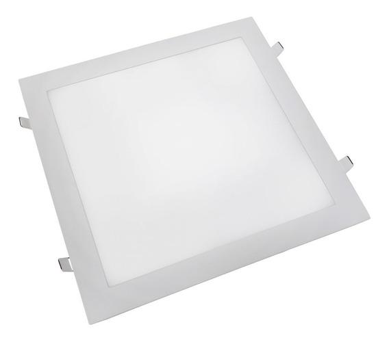 Luminaria Plafon Led Quadrado 25w Embutir 4000k Natural