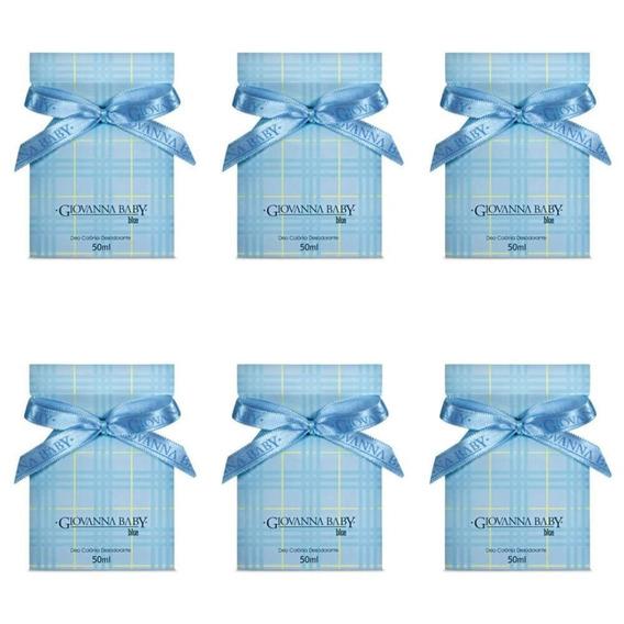 Giovanna Baby Blue Deo Colônia 50ml (kit C/06)