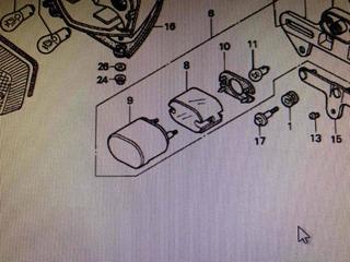 Farol Patente Cbr600 F4 600 Vt 600 Honda Fig 7/8