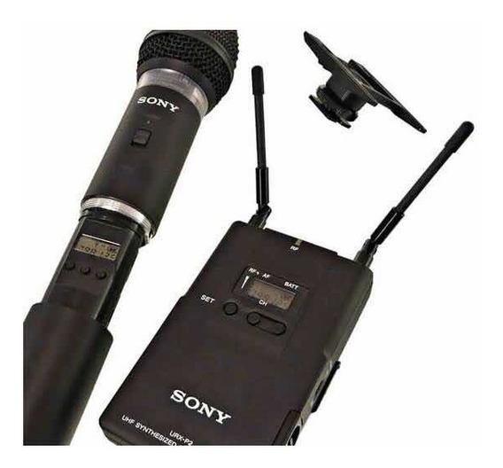 Microfone Sem Fio Para Filmadora Pu Dslr
