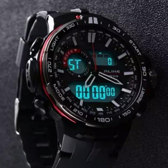 Relógio Masculino Esportes Alike 2019