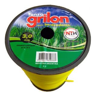 Tanza Grilon 3mm Redonda Desmalezadora O Motoguadaña X 1kg