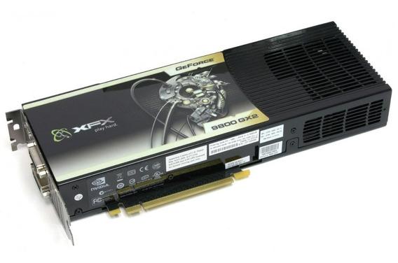 Placa De Vídeo Xfx Gx2 Geforce 1gb Ddr3 Dual Dvi Hdmi