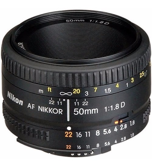 Lente Nikon Af Nikkor 50mm F/1.8d Garantia F1.8 12x S/juros