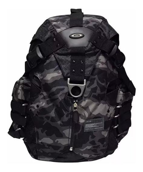 Mochila Oakley Icon 2.0 Backpack Camouflada Cinza Notebook