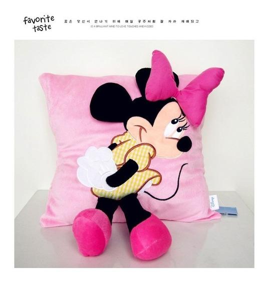 Almofada Pelúcia Minnie Travesseiros 3d Com Frete Gratis!