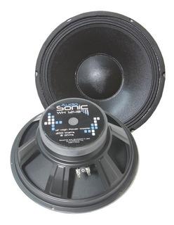 Parlante 12 Woofer 300w Audiosonic 8 Ohm Bob 2p Wh1248