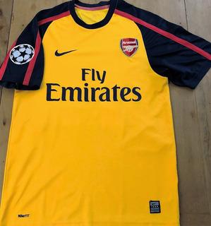 Camisa Arsenal 2008/09 Autografada Robin Van Persie