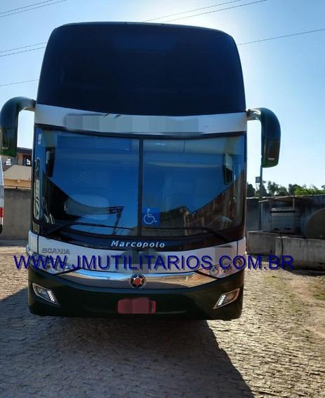 Marcopolo Double Deck G7 Ano 2018 Scania K440 Jm Cod 165