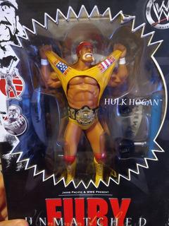 Muñeco De Colección Hulk Hogan Wwf Wwe