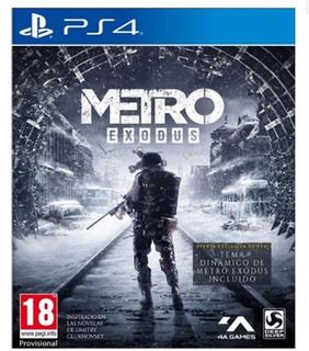 Ps4 Metro Exodus (juego Fisico Nuevo Sellado)