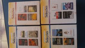 Lote 91-livro Seleções Readers Digest (4títulos Cada) Novo
