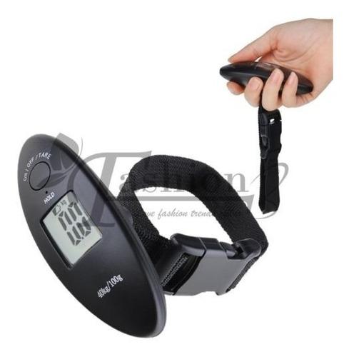 Gm Balanza Digital Portatil Pesar Maletas  100gr A 40kg.