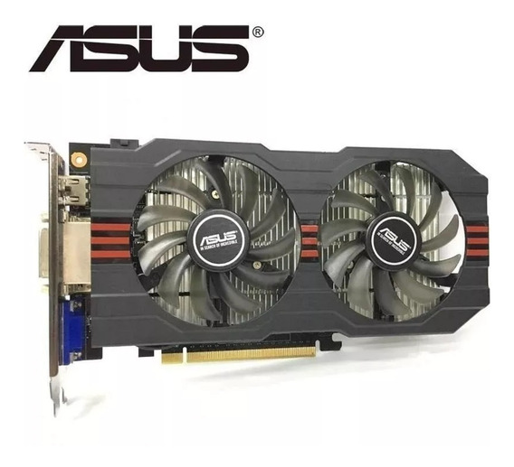 Placa De Video Asus Geforce Games Pc Computador Jogos Grafic