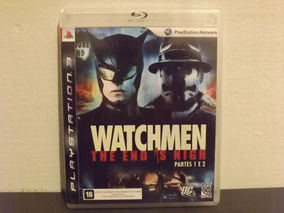 Ps3 Watchmen The End Is Nigh Partes 1 E 2 - Aceito Trocas...