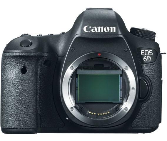 Câmera Canon Eos 6d - Corpo Da Câmera 20.2 Mp Não É A Mark 2