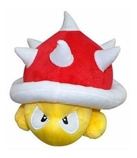 Pelúcia Tartaruga Spiny 18 X 21 Cms - Mario Bros - Nintendo
