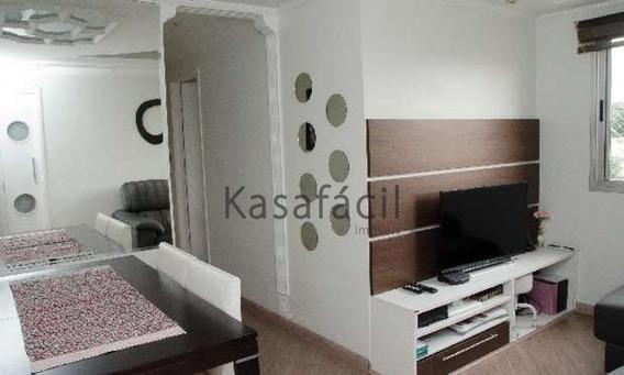 Oportunidade Apartamento 02 Dorm A 1 Km Do Metrô Sacomã. - Kf8055