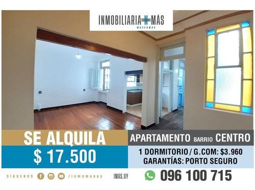 Imagen 1 de 13 de Alquiler Apartamento Centro Montevideo Imas.uy N *