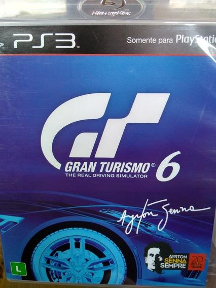 Gran Turismo 6 Ps3 Original , Leia A Descriçao