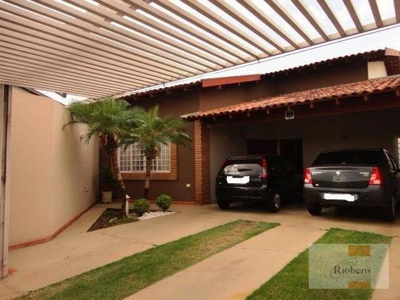 Casa Residencial À Venda, Parque São Miguel, São José Do Rio Preto. - Ca0666