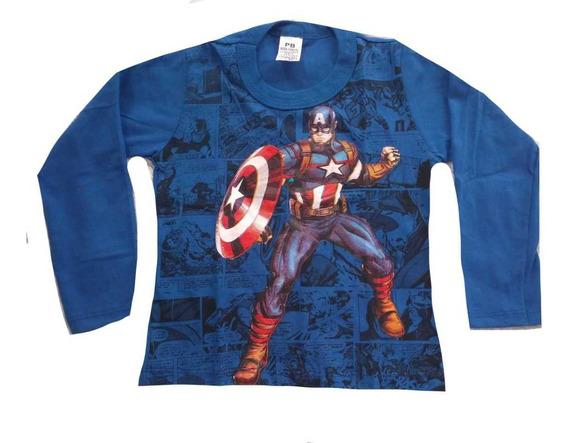 Blusa Camisa Manga Longa Infantil Menino Kit 12 Atacado