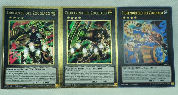 ZOODIAC CHAKANINE • • Rara Oro Premium • MAGO EN037 Yugioh! Zoodiaco Chakanina