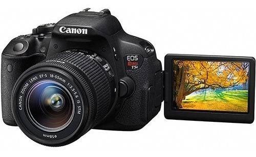 Canon Eos Rebel T3i Lente 18-55mm
